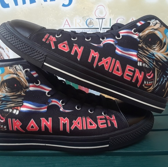 sports shoes 9528b 0a5dc Iron Maiden Shoes Size 12
